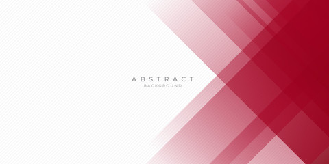 Abstract modern background gradient color. Red maroon and white gradient with stylish line and square decoration suit for presentation design. Wall mural