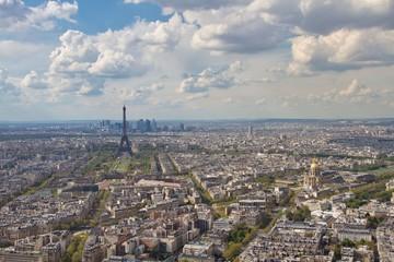Poster de jardin Paris Eiffel Tower at Paris France