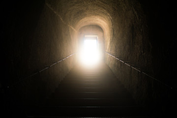Walking to Divine Light