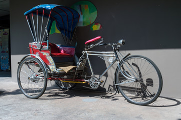 Aluminium Prints Bicycle Tricycle
