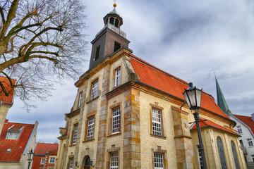 Historisches Kirchengebäude in Altstadt von Lingen im Emsland