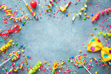 Carnival, birthday or party background