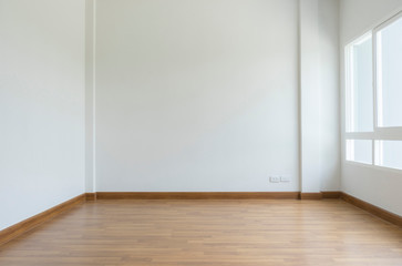 empty white room no have sofa in front of simple clean white wall