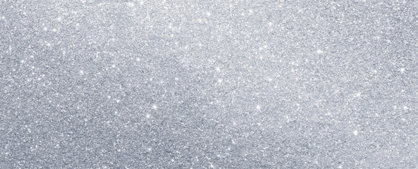 silver glitter sparkle texture background Fotobehang