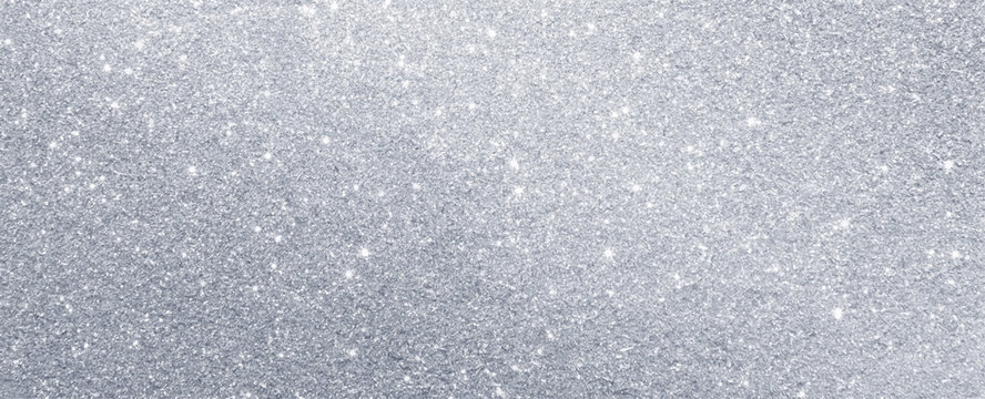 silver glitter sparkle texture background