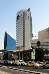 Emirates NBD at Union Square on November 26, 2014 in Dubai, UAE