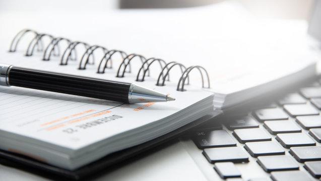 penna, agenda, appuntamenti, organizzazione