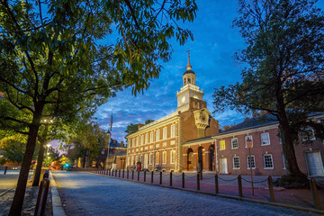 Fotomurales - Independence Hall in Philadelphia,  USA