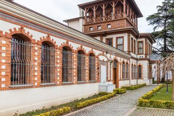 Built in the 19th century, Sirri Pasa Mansion, January 19, Kocaeli, Turkey