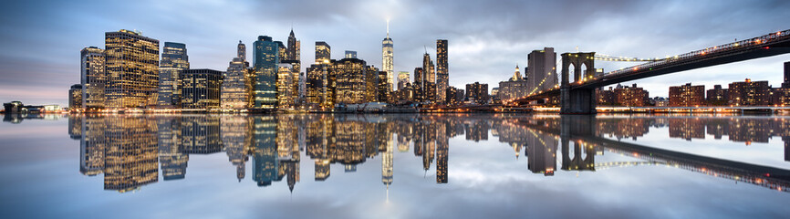 New York City skyline Fotobehang