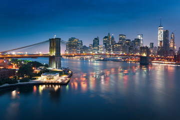 Wall Mural - New York City skyline