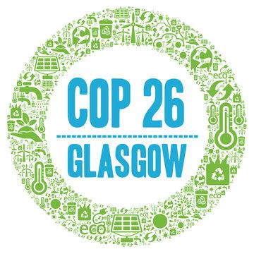 COP 26 in Glasgow, Scotland
