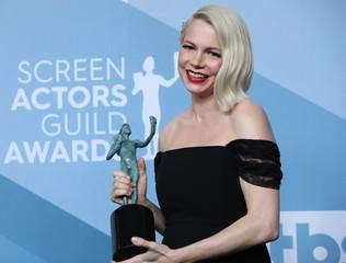 26th Screen Actors Guild Awards – Photo Room – Los Angeles, California, U.S., January 19, 2020 –  Michelle Williams