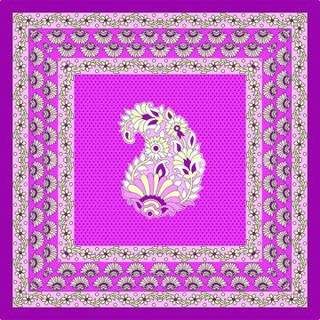 pink bandanna pattern