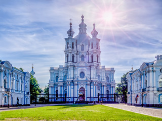 Smolny Cathedral - St Petersburg, Russia
