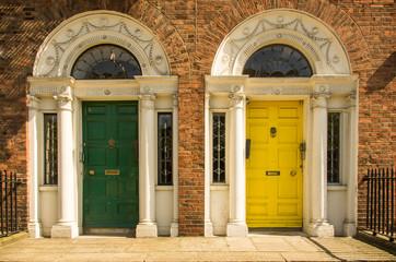 Georgian Era Doorways - Dublin