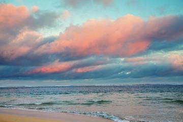 Wall Mural - Sea sunset