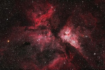 Photo sur Aluminium Nature Eta Carinae Nebula Namibia