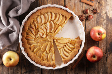 apple pie- homemade gourmet apple pie