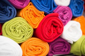 image of different cotton colour towel