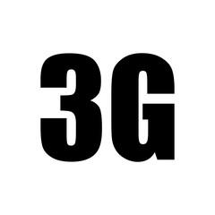 3g. Internet network. Icon Vector.