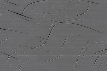 Fotobehang - Metal panel with scratched surface for background. Steel with damaged texture.