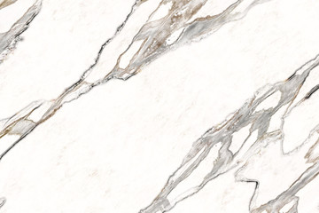 Fotobehang - Marble background.White abstract marble with gray-brown texture.Stone surface for work,design,decor art.