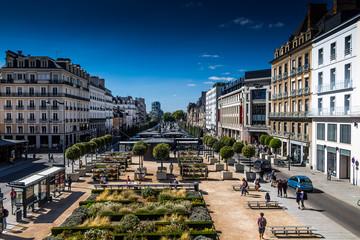 Rennes centre ville Fototapete