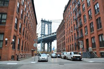 Manhattan Bridge from Brooklyn Wall mural