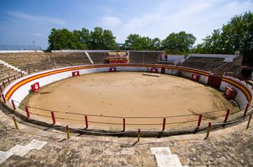 Corrida arena in Acludia, Mallorca, Spain