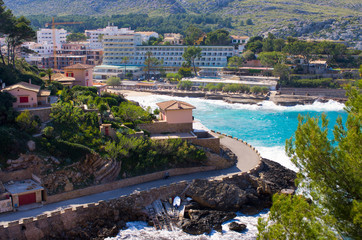 Cala Sant Vicenc bay, Mallorca, Spain