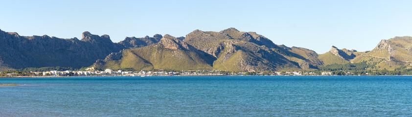 Landscape of Mallorca island, Spain