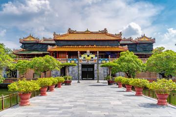 Views on Imperial Royal Palace Hue, Vietnam