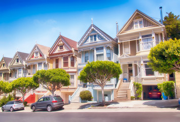 Painted ladies of San Francisco