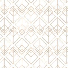 Art deco, retro, gatby, 20s vector pattern.