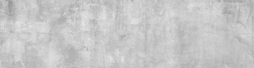concrete wall grunge texture - wide banner format background with copy space