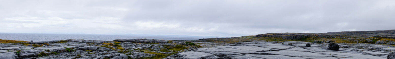 Panorama Landscape Burren Ireland