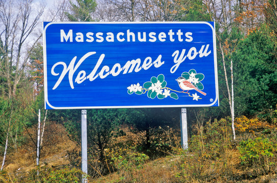 Welcome to Massachusetts Sign
