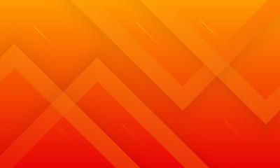 Abstract minimal orange background with geometric creative and minimal gradient concepts, for...