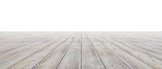 Photo Blinds Wood Empty floor with white walls and floor. Empty room studio gradient used for background and display your product. 3d illustration