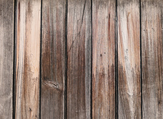 Wall Mural - Brown wooden texture