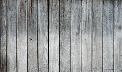 Wall Mural - Grey wooden texture