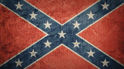 Papiers peints Amérique du Sud Grunge Confederate flag. Confederation flag with grunge texture.