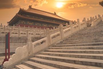 Papiers peints Pekin exterior of the Forbidden City in Beijing.