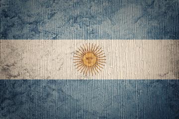 Papiers peints Amérique du Sud Grunge Argentina flag. Argentina flag with grunge texture.