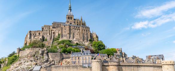 Le Mont Saint Michel - panorama Fototapete
