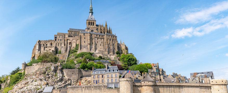 Le Mont Saint Michel - panorama