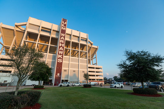Monroe, LA, USA: Football Stadium on UL-Monroe Campus