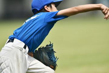 少年野球の練習