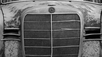 Benz W120 Front und Kühlergrill